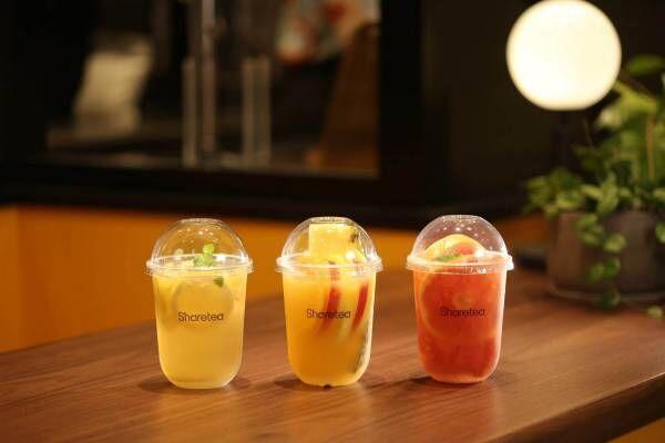 台湾茶専門店「シェアティー」東京・新宿マルイ 本館に日本初上陸!