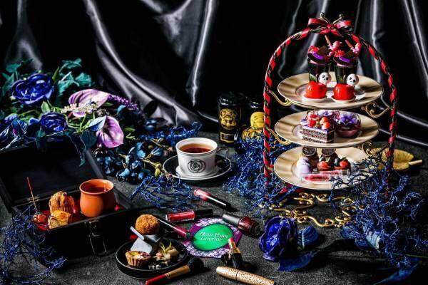 『白雪姫』の魔女の世界を表現、ストリングスホテル 名古屋で「ダークプリンセスアフタヌーンティー」開催!
