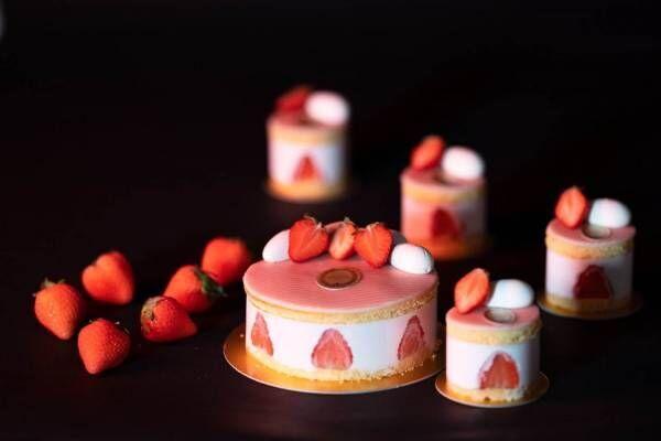 ラデュレ初のショートケーキ、イチゴ&マスカットの2種が登場!