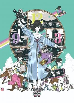 中村佑介の大規模展覧会が東京ドームシティにて期間限定で開催!