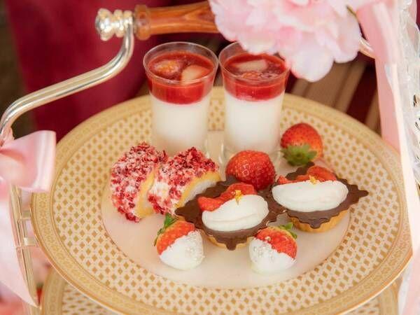 ホテル ラ・スイート神戸ハーバーランド、「ロマンスストロベリーアフタヌーンティ」が期間限定で登場!