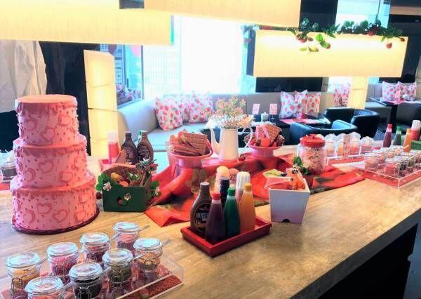 ANAインターコンチネンタルホテル東京にて苺とルビーチョコレートのフォンデュスタイル登場!