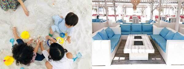 """大阪・リンクス ウメダ""""白い砂""""広がるBBQ施設併設「リンクスカイガーデン」が屋上にオープン!"""