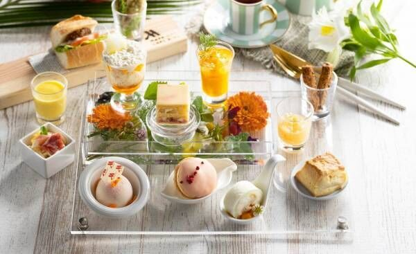 琵琶湖マリオットホテルにてピーチ&マンゴーの夏限定アフタヌーンティー開催!