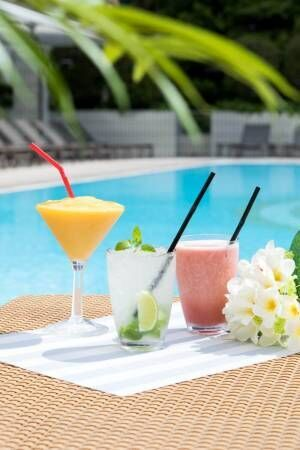 ANAインターコンチネンタルホテル東京の屋外プール「ガーデンプール」夏季限定でオープン!