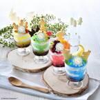 ムーミンカフェの「ムーミン谷 かき氷パフェ」限定発売!