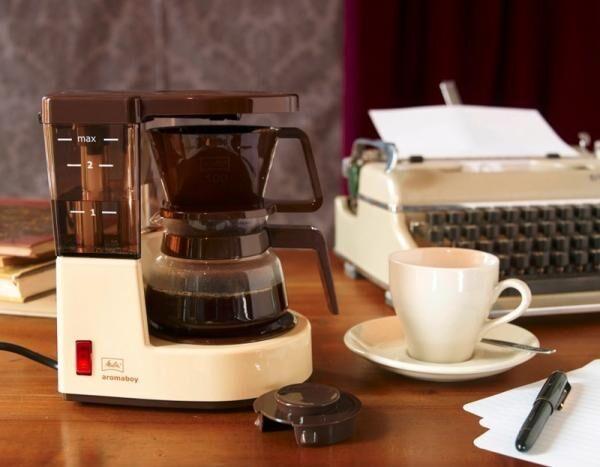 【再発売決定】1979年発売のレトロなパーソナルコーヒーメーカー復刻盤「Aromaboy(アロマボーイ)」