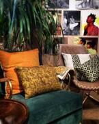 アフリカンアートを用いたインテリアピロー全6柄が、Maki & Mphoの渋谷ショールームおよびオンラインショップに登場