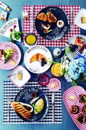 """""""パリの朝食""""と""""フランスの香り""""がやってくる!? Afternoon Tea LIVINGより8/24(木)から♪"""