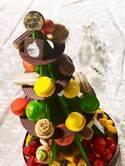 数量限定・早期予約特典付き高さ約45cmのツリー型ケーキなど、品川プリンスホテルでクリスマスケーキの予約受付開始♪