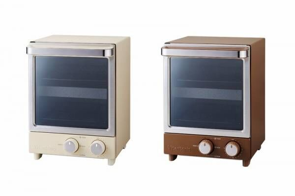 シンプルデザインとナチュラルカラーの縦型トースターと全自動コーヒーメーカーで、朝の食卓をインスタジェニックに演出♪