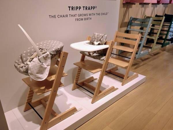 親子で使えるベビーチェア!? 世界で1,000万台売れている《TRIPP TRAPP》を扱う〔STOKKE〕が青山に登場
