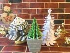 短時間でクリスマスらしさを演出♪簡単かわいいペーパーツリーの作り方