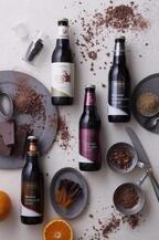 """1本に1万粒のごまを使用した""""黒ごまチョコビール"""" これを贈れば職場でお世話になっているあの人への""""ごますり""""も完璧!?"""
