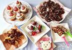 プチプラ料理グッズで手作り!  ココアハート絞りクッキーやチョコバナナの剣など、簡単かわいいバレンタイン♡スイーツ♪