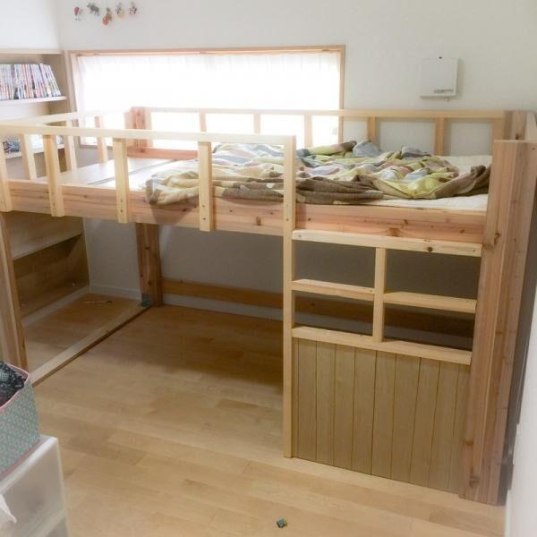 子供部屋をdiyでおしゃれに収納ベッドインテリアアイテムなどの