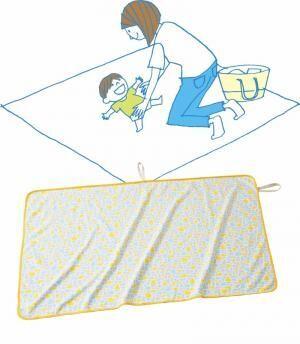新しい虫よけのカタチ◎ かけるだけで虫よけになる『虫よけブランケット』が赤ちゃん本舗から!