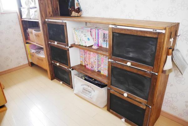 カラーボックスで便利な収納家具をdiy子供部屋にぴったりな棚まで