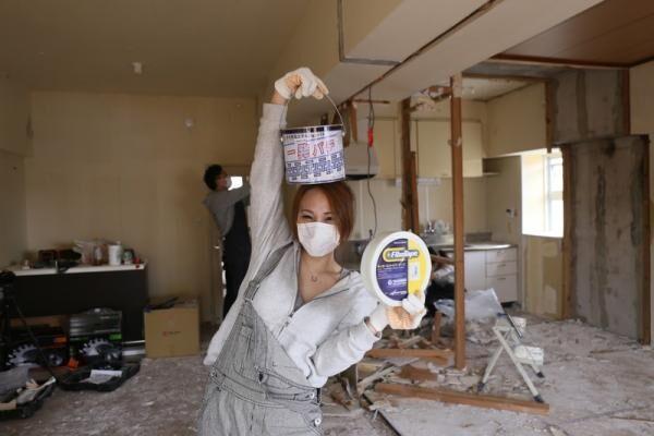 連載② なに?部屋が狭い??ならば壊してしまいましょう! 〜壁 破壊編…UR×LIMIA「DIYリノベプロジェクト」