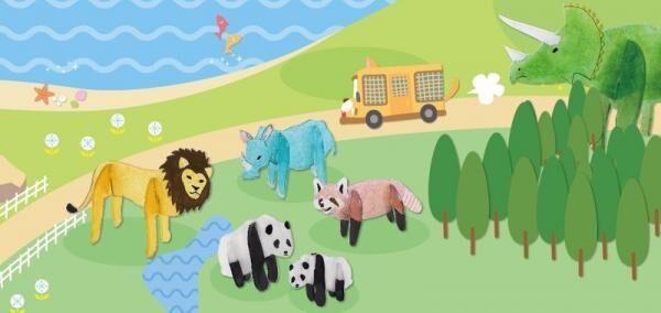この夏は、ハンドメイドで動物園・水族館・サファリパークを楽しもう! 動物作品が作れる「夏休みキッズ手づくりイベント」開催
