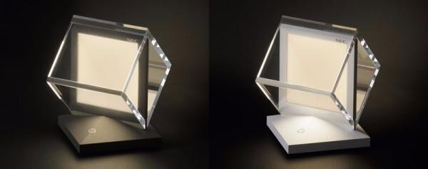 """有機ELパネル搭載のインテリア照明「LIFEEL Cuel(ライフィールキュエル)」~優しいひかりに触れる""""きっかけ""""~"""