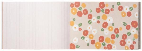 大人気の100枚レターブックシリーズに、「中川政七商店」が登場! 選りすぐりのテキスタイル柄やイラストを100枚収録♪