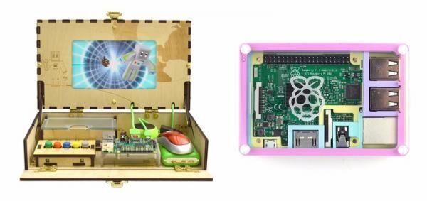 ママも納得のおしゃれなキッズPC「DIYコンピュータキット」が新登場! 組み立て後はプログラミング学習用の教材にもなる♪