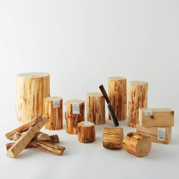 都会の真ん中で森林浴!〔Cul de Sac-JAPON〕の「青森ヒバ」プロダクト