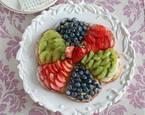 型がなくてもOK♪家族が好きな果物を詰める、ぜいたくフルーツタルト