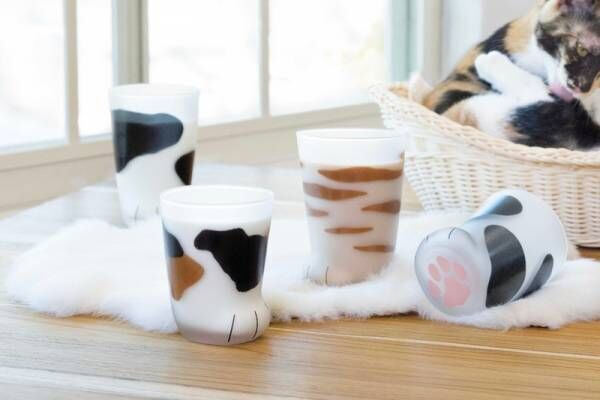 猫好きさん必見!かわいすぎる♡猫のおててグラス