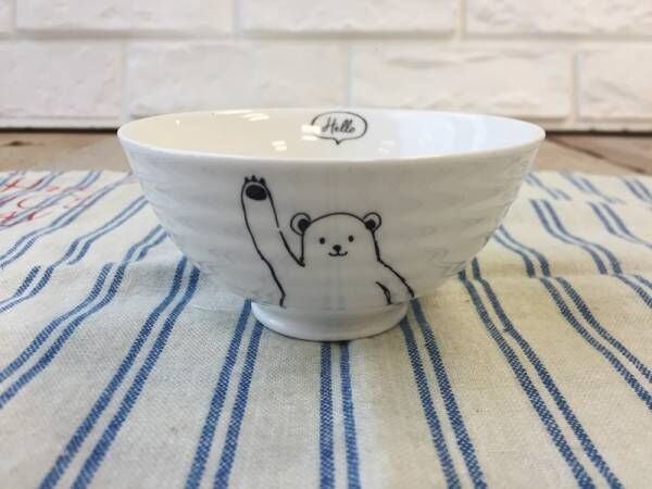 【100均】かわいいデザインがいっぱい!〔Can★Do〕〔ダイソー〕〔セリア〕のお茶碗