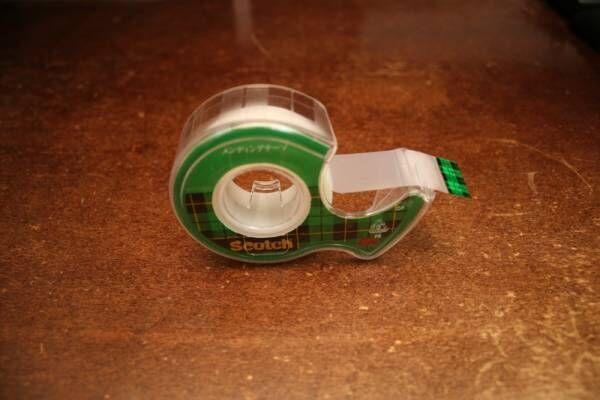 マステの次はコレ!?DIYアイテムの新定番、メンディングテープってこんなに便利♪