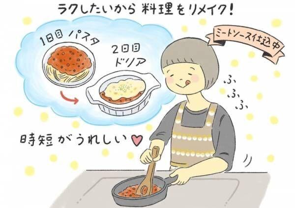 【毎日のおうち時間 #4】時短できる!料理のリメイクレシピ