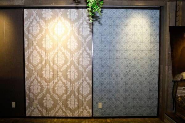 洋服を着替えるように壁紙も!簡単&おしゃれな輸入壁紙の魅力【壁紙貼り方レッスン #1】
