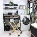 【簡単】洗面台の収納アイデア集。これでランドリースペースの収納力アップ♪