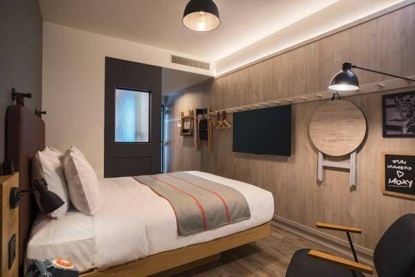 【大阪おでかけ♪】話題のホテル〔moxy(モクシー)〕に泊まれば旅行がもっと楽しくなる!