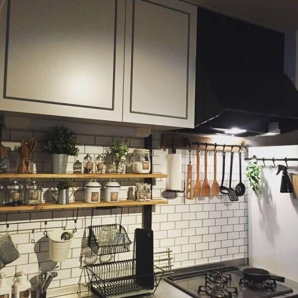 キッチンインテリアを自分好みに!真似したくなるコーディネート術