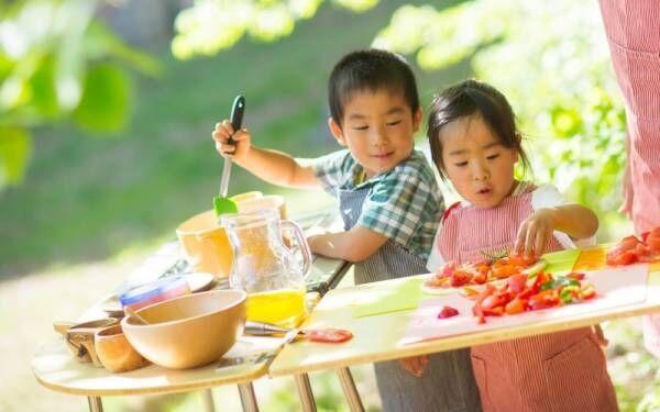 ゲストはママ!青空の下で子どもたちがシェフになる〔星野リゾート〕の母の日プログラムが楽しそう♪