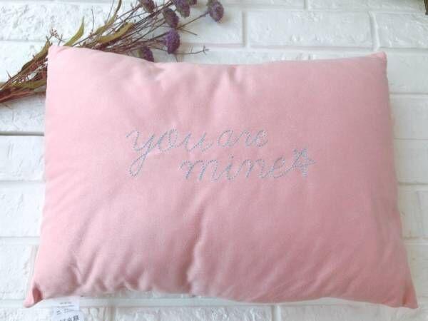 【3COINS】癒されること間違いなし!もちもち刺繍枕がかわいい♡