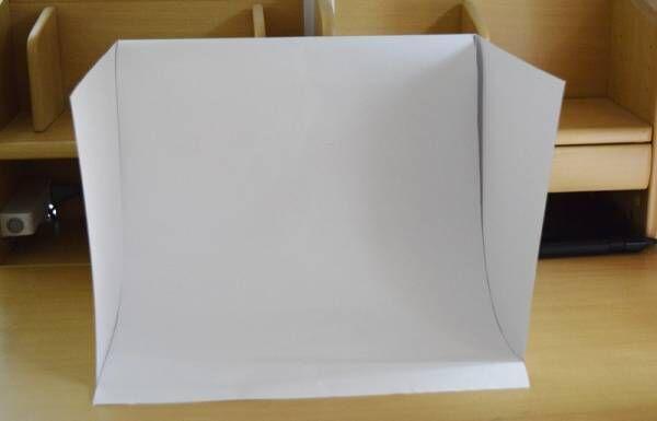 もっとキレイにブツ撮りしたい♪ 100均のアイテムでできる「撮影ボックス」の作り方