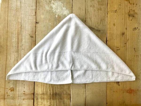 不器用さんでも簡単に作れる!かわいいクマさんのフーデッドタオルを手作り♪