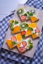 夏におすすめ!ビタミンカラーがかわいいフルーツレシピ5選★