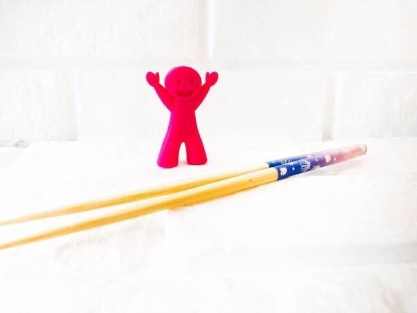【Can★Do】お子さんのお箸練習の味方!《シリコンおはし★もてたくん》が優秀すぎる
