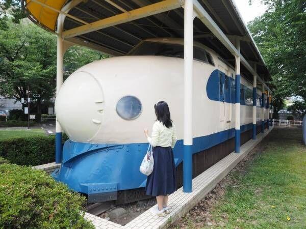 電車好きキッズ大集合!激レア0系新幹線で遊べる〔新通町公園〕に遊びに行こう