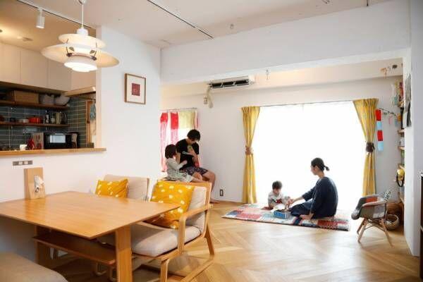 子育てのためのかしこいリノベ。共働き家庭の住まい【我が家の暮らし #4】