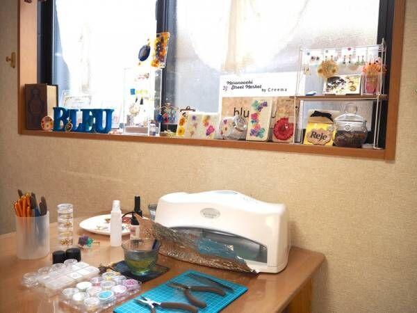 レジンとお花で作る♡レジュフラワー®アクセサリーの体験レッスンに行ってきた!