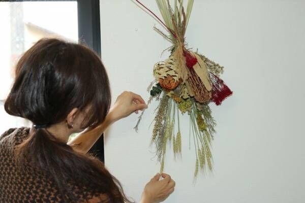 オーストラリア産の珍しいワイルドフラワーを取り入れた話題のスワッグ作りDIY教室(初心者1DAYレッスン)に行って来た!