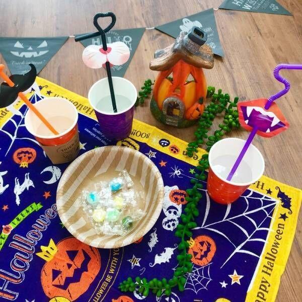 【ダイソー】ステキなテーブルコーディネートが完成!ハロウィンをさらに盛り上げよう♪