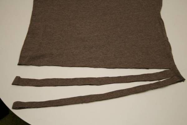 着古したTシャツを再利用!Tシャツヤーンで三つ編みカーテンタッセル作り♪