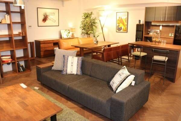 都内で3フロア、約1,000㎡の広さを誇る、家具・インテリアショップ〔リグナテラス東京〕で流行りのアイテムをリサーチ!